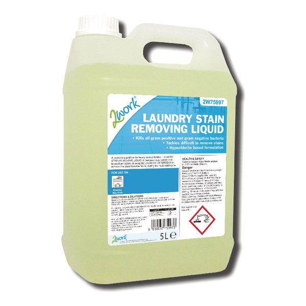 Image for 2Work Laundry Destaining Liquid 5 Litre 210