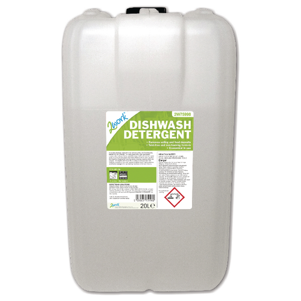 Image for 2Work Dishwasher Detergent 20 Litre