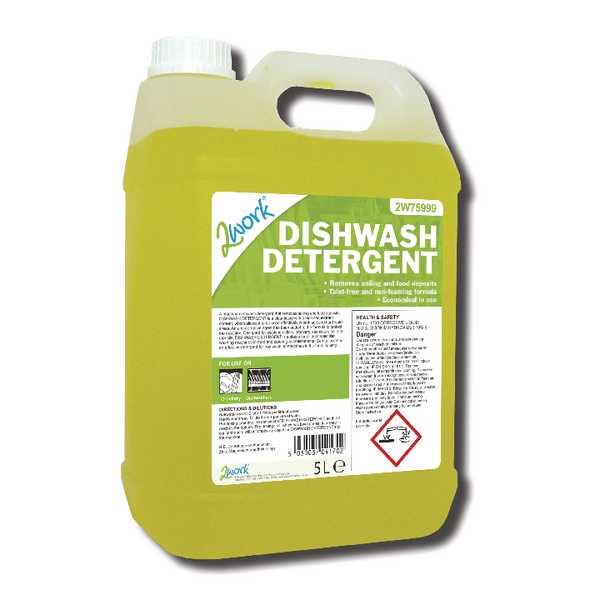 2Work Dishwasher Detergent 5 Litre 314