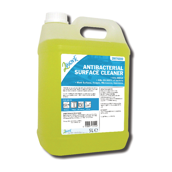 2Work Antibacterial Cleaner 5 Litre 242