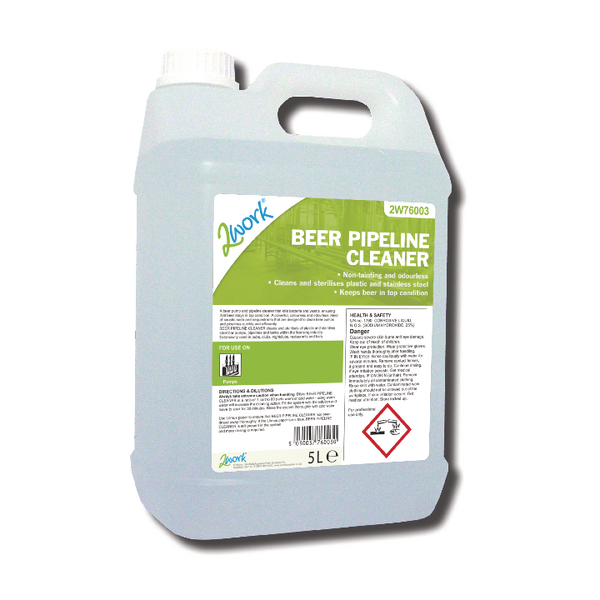 2Work Beer Pipeline Cleaner 5 Litre
