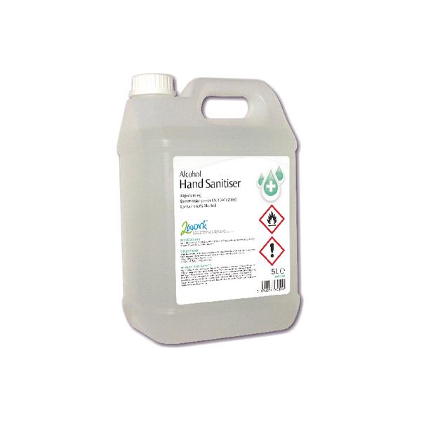 2Work Hand Sanitiser 5 Litre 2W76010