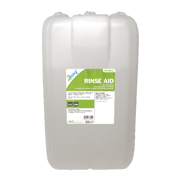2Work Rinse Aid 20 Litre 451