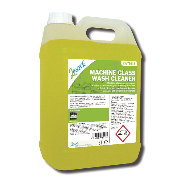 2Work Glass Wash Machine Cleaner 5 Litre 328