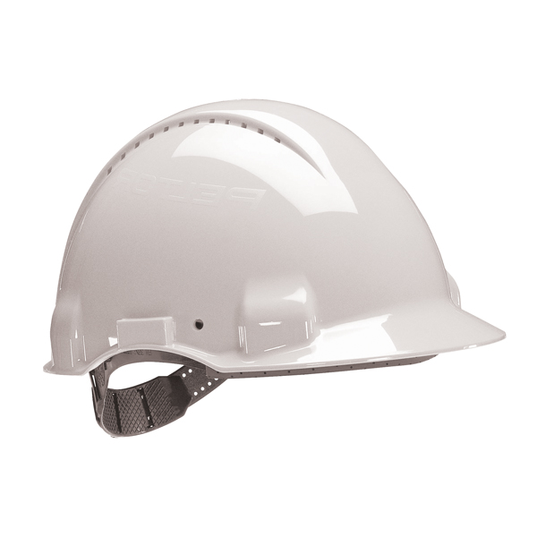 3M Peltor Safety Helmet White G3000