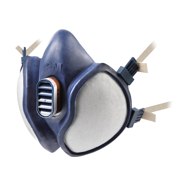 3M Respirator Half Mask Blue (Conforms to EN405:2001+A1:2009) 4251