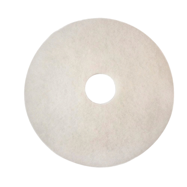 3M Polishing Floor Pad 430mm White (Pack of 5) 2NDWH17