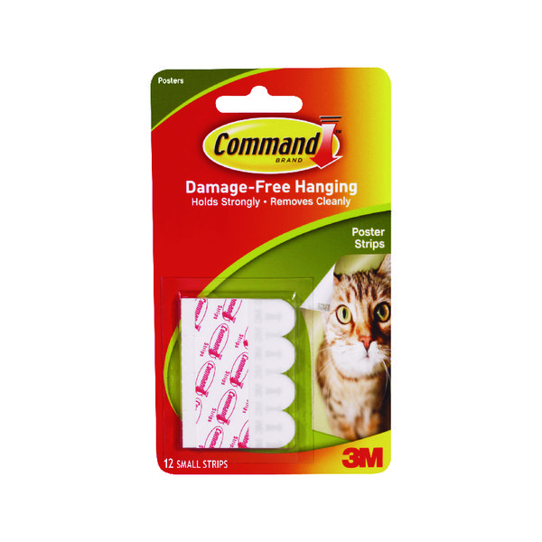 Image for 3M Command Adhesive Poster Strips (Pack of 72) 17024