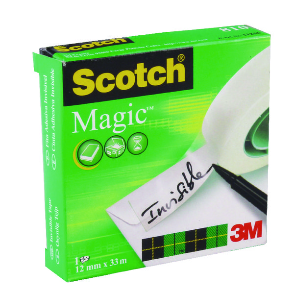 Image for Scotch 810 Magic Tape 12mmx33M