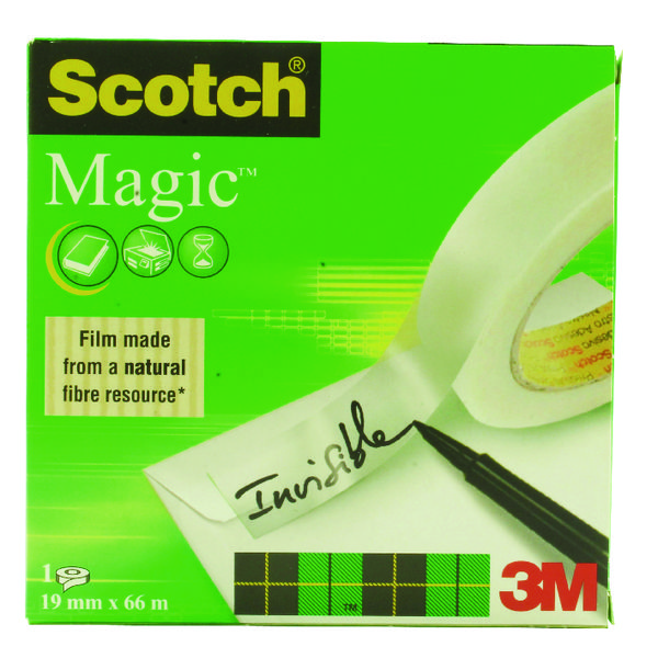 Scotch Magic Tape 19mm x 66m 3 For 2
