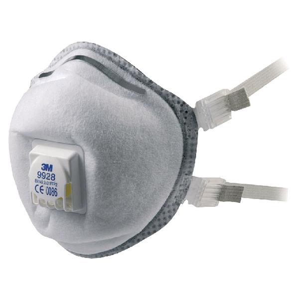 3M Cup Shaped Respirator FFP2 9928 XA004837838