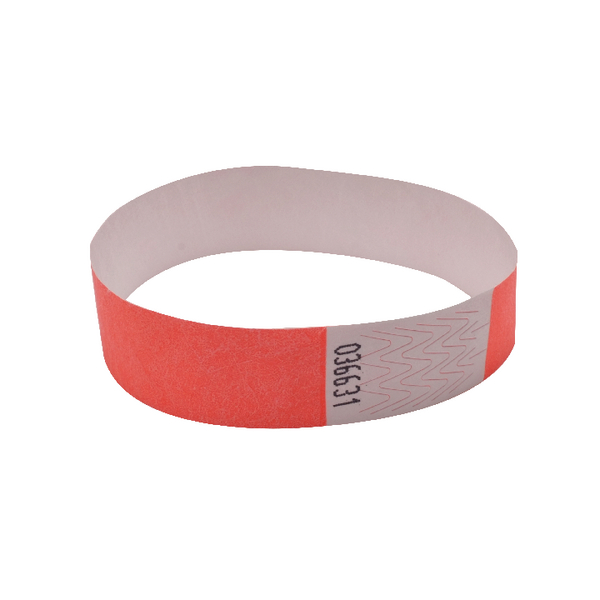 Announce Wrist Bands 19mm Coral