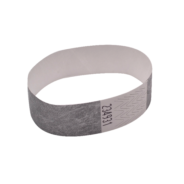 Announce Wrist Bands 19mm Silver