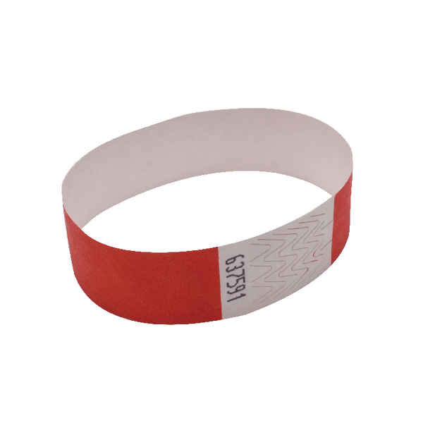 Announce Wrist Bands 19mm Warm Red
