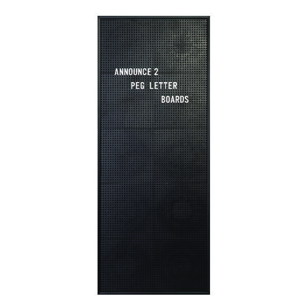 Announce Peg Letter Board 310x767mm 1/ECON-2/VC/EC-KIT692