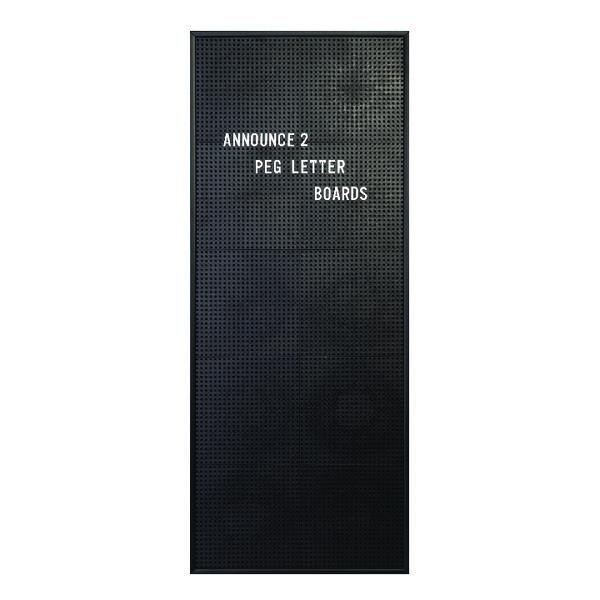 Announce Peg Letter Board 310 x 767mm 1/ECON-2/VC/EC-KIT692
