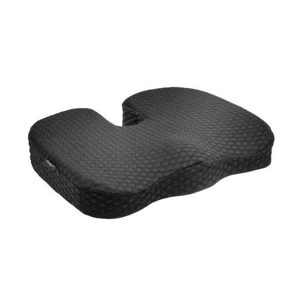 Kensington Cool Gel Seat Cushion Black (Cooling fabric with cool-gel core) K55807WW