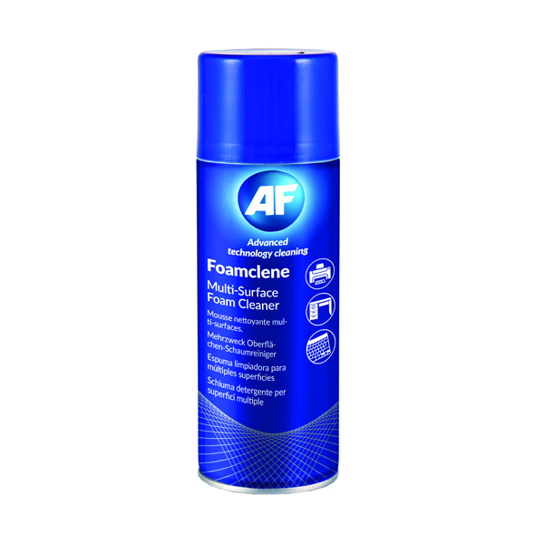 AF Foamclene Anti-Static Foam Cleaner 300ml AFCL300