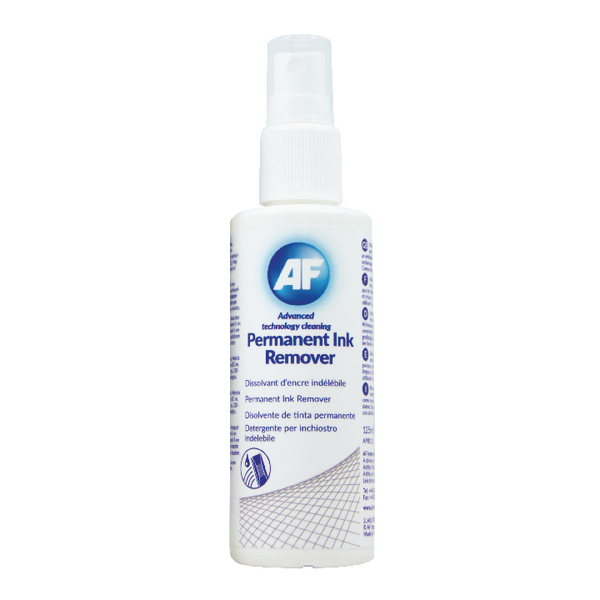 Image for AF Permanent Ink Remover 125ml Pump Spray APIR125