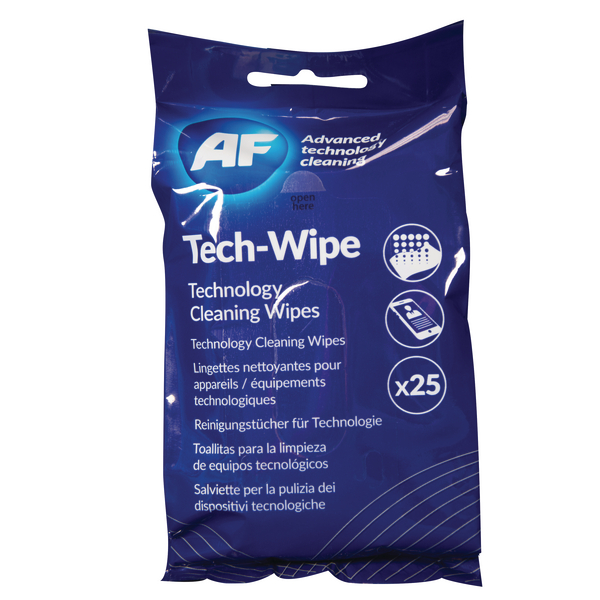 AF Mobile Technology 25 Wipes AMTW025P