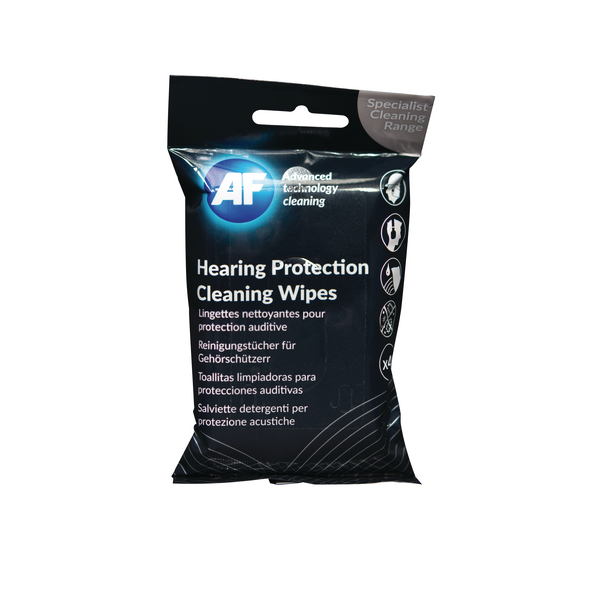 AF Hearing Protection Wipes (Pack of 40 Wipes) EPCW040