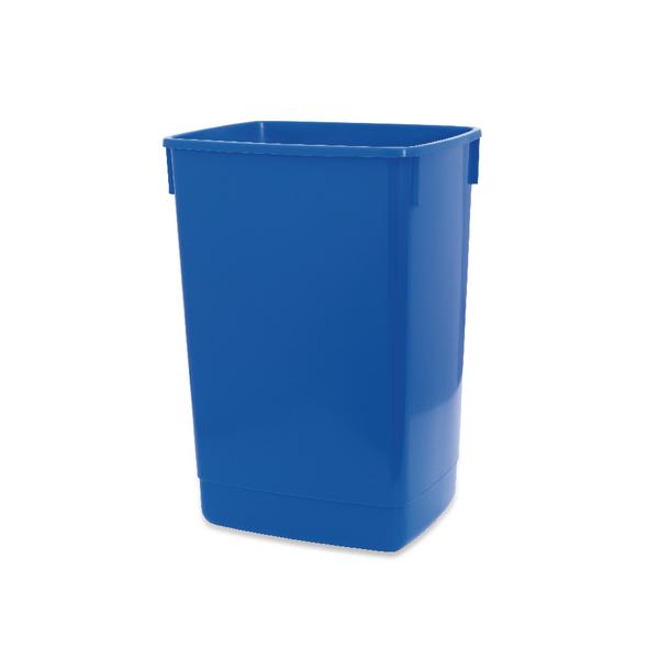 Addis 60 Litre Flip Top Bin Blue Base 510896