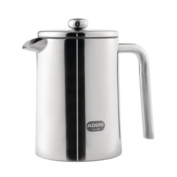 Addis Cafetiere 1.2 Litre Stainless Steel (Retains hot water temperature for up to 8 hours) 517471