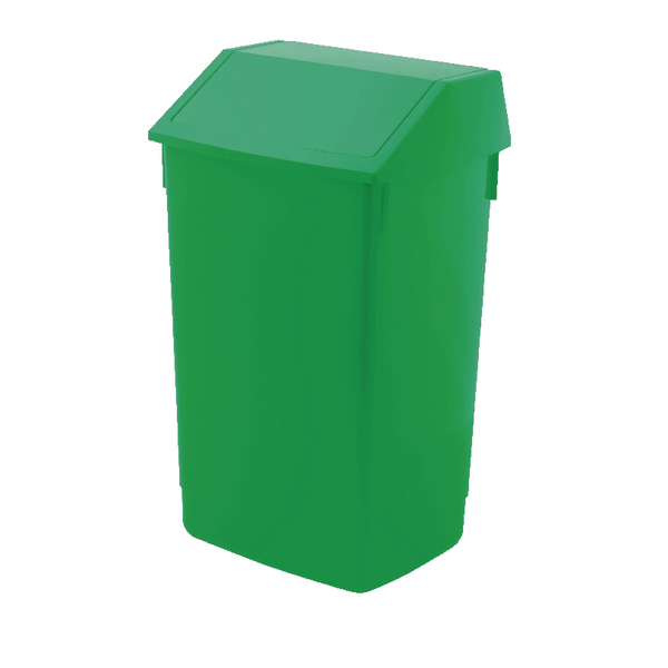 Addis 60 Litre Fliptop Bin Green