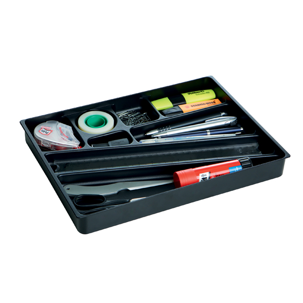 Durable Desk Drawer Organiser Black 1712004058
