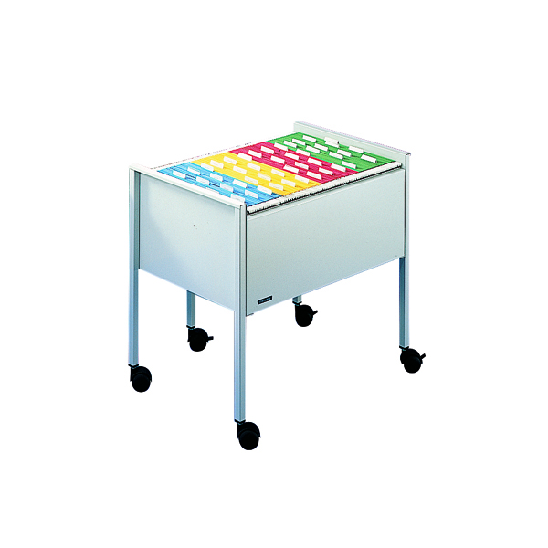 Durable Filing Trolley Foolscap Grey 3097-10