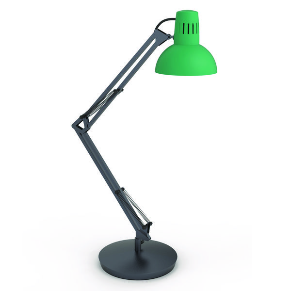 Image for Alba Architect LED Desk Lamp Green (Flexible at base, arm and head) ARCHICOLOR V1 (0)
