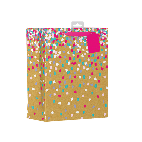 Giftmaker Confetti Gift Bag Large (Pack of 6) FCOL