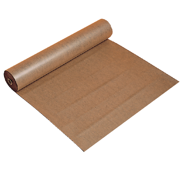 Polythene Coated Kraft Paper Roll 900mmx100m Brown 70080