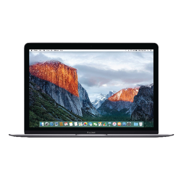 Apple MacBook 12-inch 1.2GHz dual-core Intel Core m3 256GB - Space Grey MNYF2B/A