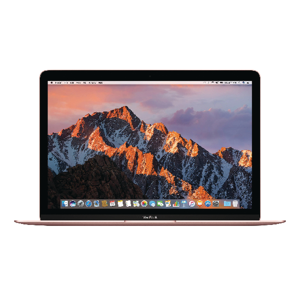 Apple MacBook 12-inch 1.2GHz dual-core Intel Core m3 256GB - Rose Gold MNYM2B/A