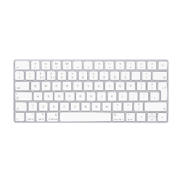 Apple Magic Keyboard - British English White/Silver MLA22B/A