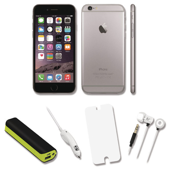 Apple iPhone 6 Certified Pre Owned Bundle Deal with 2000mah Power Bank