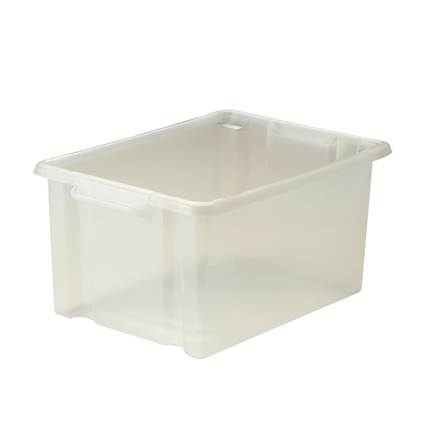 Image for Strata Maxi Storemaster Box 32L Clear HW046-CLEAR