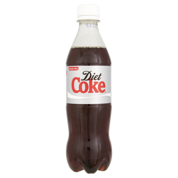 Diet Coke 500ml Bottle (Pack of 24) 100187