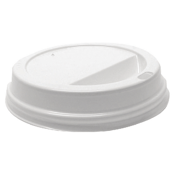 1000 x MyCafe Lids 12oz White (For use with Ripple Walled Hot Cups) MXPWL80CASE