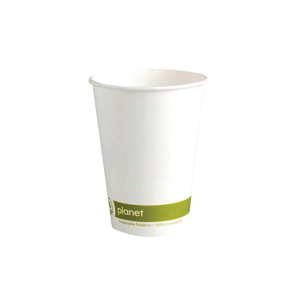 Planet 8oz Single Wall Cups Pk50