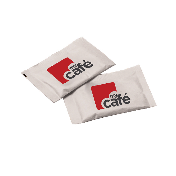 1000 x MyCafe White Sugar Sachets (Perfect for both tea and coffee) AU00377