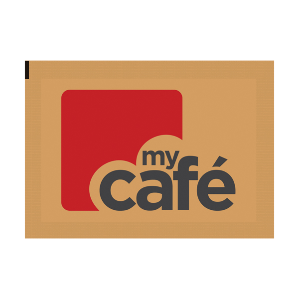 1000 x MyCafe Brown Sugar Sachets (Perfect for both tea and coffee) A00890