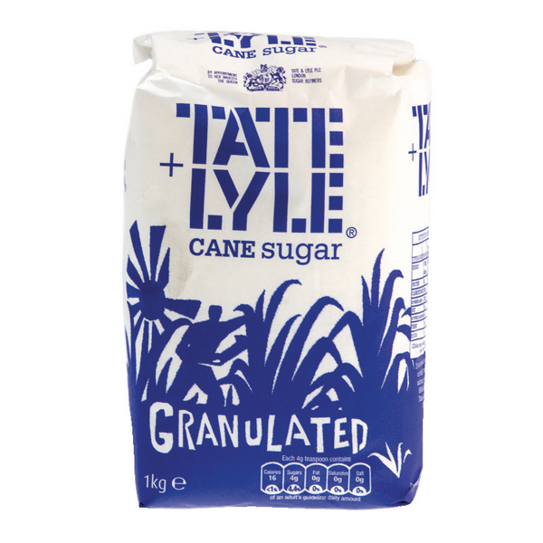 Tate and Lyle Granulated Sugar 1 kg (Pack of 15) A06636