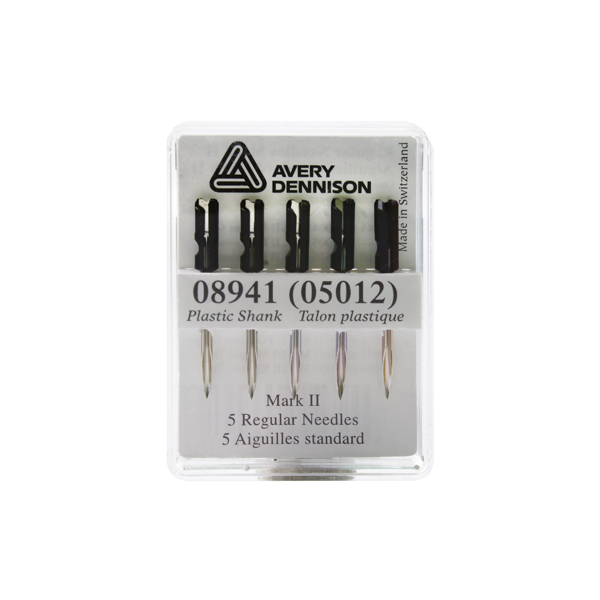 Avery Tagging Needles Plastic Standard (Pack of 5) 05012