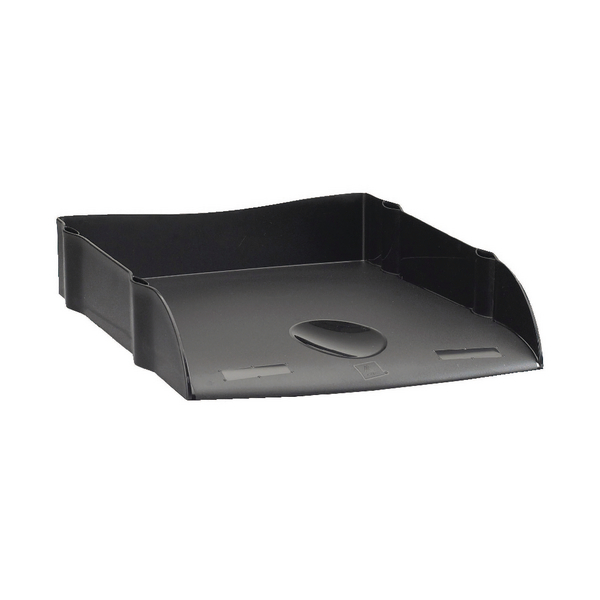Avery DTR Eco Letter Tray Black DR100BLK
