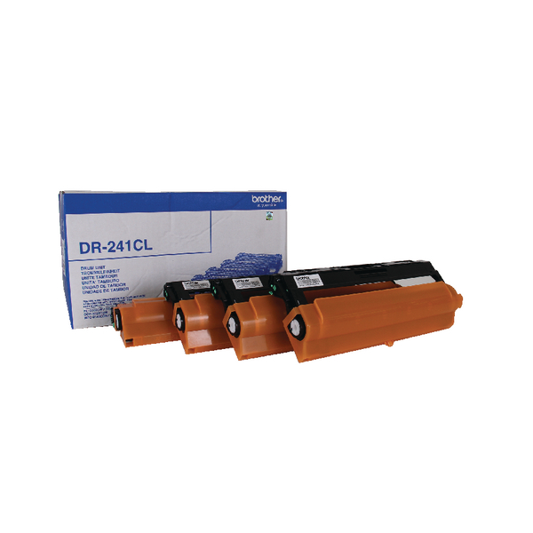 Brother Laser Drum Unit DR241CL - (15,000 Page Capacity)