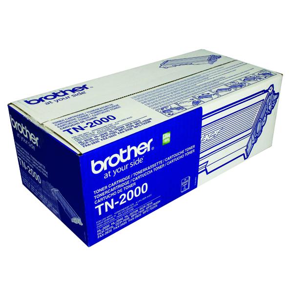 Brother HL-2030 Black Laser Toner Cartridge FAX2920 TN2000