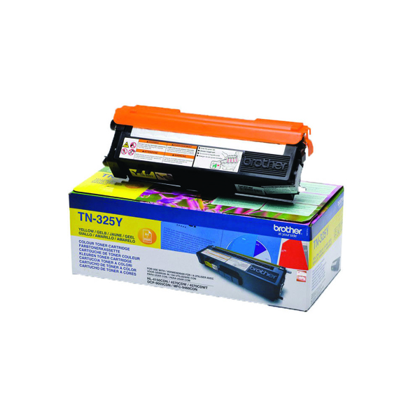 Brother Yellow Toner Cartridge High Capacity TN325Y