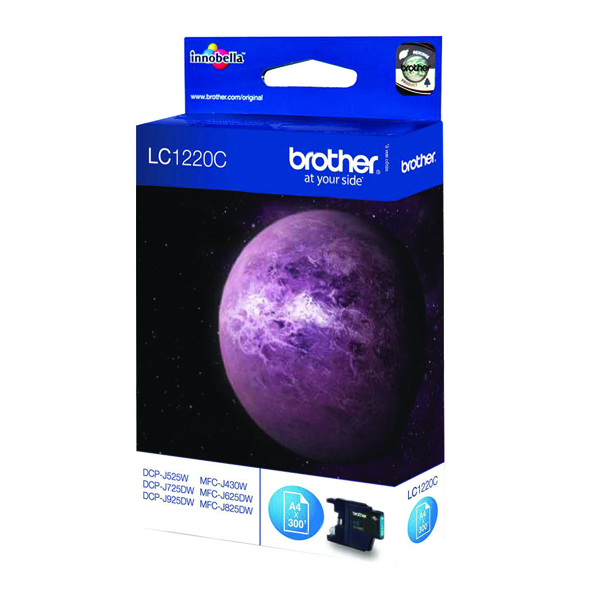 Brother LC1220C Cyan Inkjet Cartridge LC-1220C